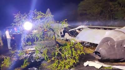 Військовий літак розбився під Чугуєвим: попередня причина катастрофи