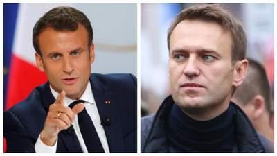 Это попытка убить, – Макрон объяснил, почему именно РФ должна объяснять отравление Навального