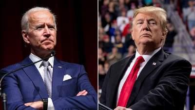 Дебати Трампа й Байдена – кандидатів у президенти США: відео
