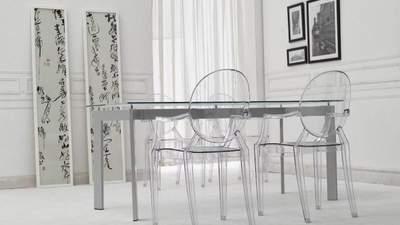 Сверхсовременная прозрачная мебель –  тренд в интерьере: фото интересного декора
