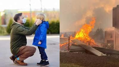 Головні новини за 1 жовтня: МОЗ оновило карантинні зони, жахливі наслідки пожеж на Луганщині
