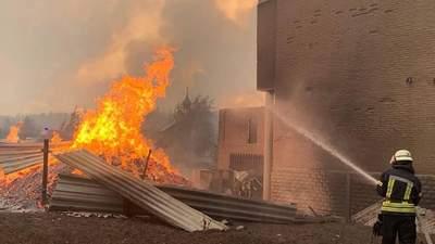 Пожары в Луганской области: что известно о жертвах и пострадавших