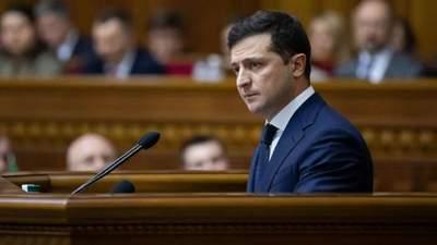Виступ Володимира Зеленського у Верховній Раді: головне з промови президента