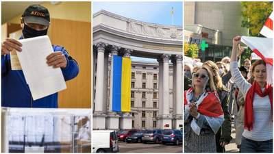 Головні новини 26 жовтня: підсумки голосування, нота Угорщині, у білорусів – страйк