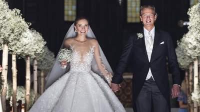 Від Вікторії Сваровські до Кетрін Зети-Джонс: найдорожчі весільні сукні знаменитостей