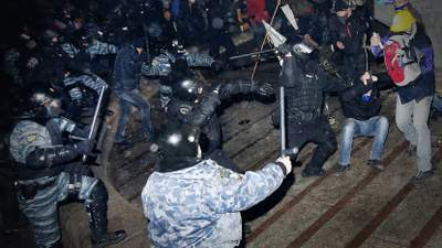 Первая кровь на Майдане: как начиналась Революция Достоинства и что изменилось с тех пор