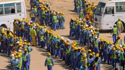 Гучний скандал у Катарі: 6500 мігрантів померли, готуючи Чемпіонат світу з футболу