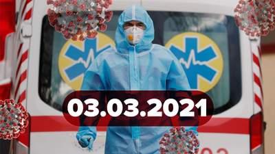 Новини про коронавірус 3 березня: в Україні зросла захворюваність, Техас відмовився від масок