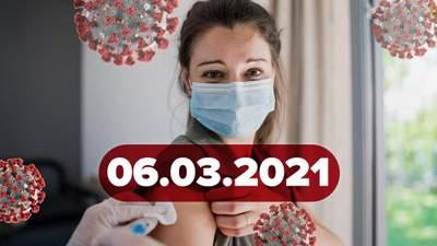 Новини про коронавірус 7 березня: нові карантинні зони, Канада схвалила одну дозу вакцини