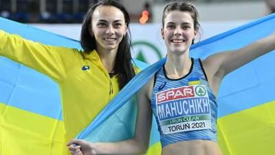 Магучих – чемпионка Европы по прыжкам в высоту, Геращенко – вторая