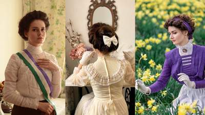 Дивовижне перевтілення: дівчина з Вінниці носить одяг XIX століття