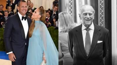 Підсумки тижня: розставання Джей Ло і нареченого і підготування до похорону принца Філіпа