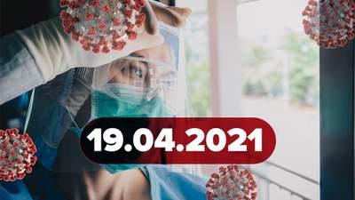 Новини про коронавірус 19 квітня: ген, який вбиває вірус, невтішна статистика у світі
