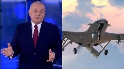 """Киселев снова обманул россиян: на этот раз говорится о """"могуществе"""" беспилотников России"""