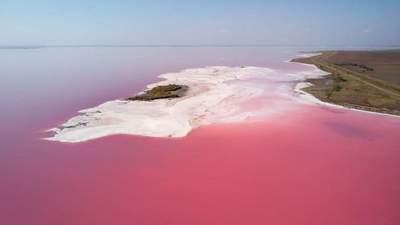 Жемчужина Херсонщины: что нужно знать о розовом Лемурийском озере и его целебных свойствах