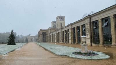У Німеччині посеред травня випав сніг: фото, відео