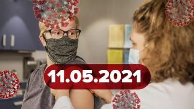 Новости о коронавирусе 11 мая: когда возможна четвертая волна пандемии, вакцинация детей