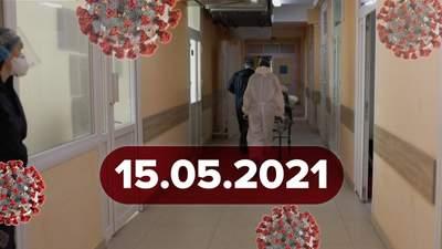 Новини про коронавірус 15 травня: прогноз ВООЗ, новий штам у Білорусі