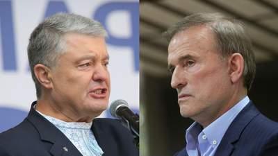 Медведчука подозревают в государственной измене: какова была роль Порошенко