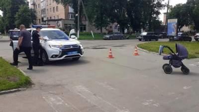 На Полтавщине водитель сбил 16-летнюю девушку с младенцем на руках