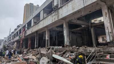 Мощный взрыв на рынке в Китае убил 11 человек, десятки серьезно ранены