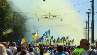 Звільнення Маріуполя: у місті відбувся Марш українських сил – фото, відео