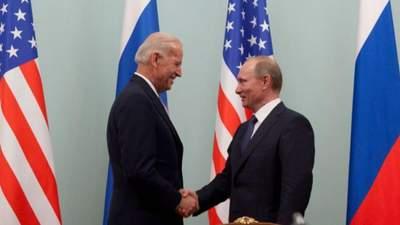 Це не конкурс, хто краще виглядає на камеру, – Байден про відмову від пресконференції з Путіним