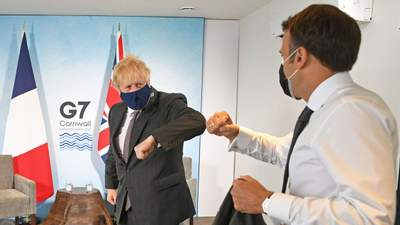Джонсон поссорился с Макроном на саммите G7: в чем причина – СМИ