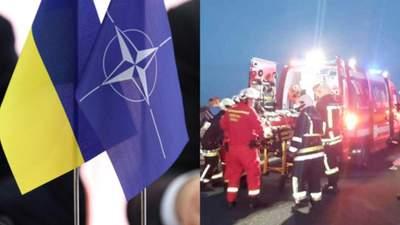 Главные новости 14 июня: обещания НАТО присоединить Украину, ДТП с украинцами в Румынии