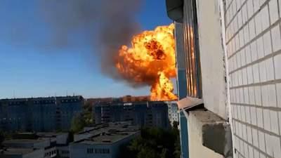 В России масштабные взрывы на АЗК: есть пострадавшие – жуткие видео