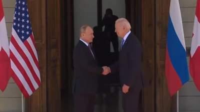 Путін та Байден зустрілись у Женеві: переговори почались – відео