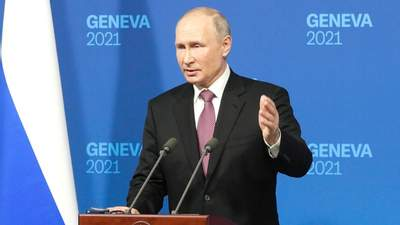 Не допустимо, – Путин привел пример с Black Live Matters на вопрос о конкурентах