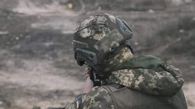 На Донбасі поранили українського військового