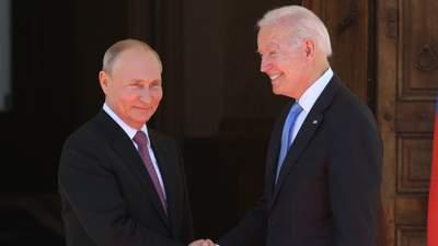 Выглядит бодро, – Путин описал Байдена после личной встречи