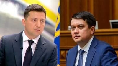 """До этого между ними была """"холодная война"""": СМИ о разговоре Зеленского и Разумкова"""