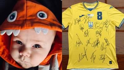 Во главе с Шевченко: сборная Украины присоединилась к сбору средств для больного мальчика