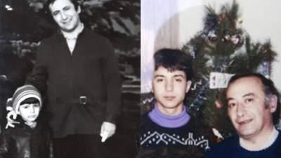 Зеленський привітав батька зі святом і поділився пам'ятними фото