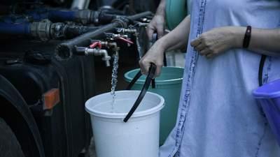 У Криму знову з'явилася вода: окупанти кажуть, що стихія допомогла