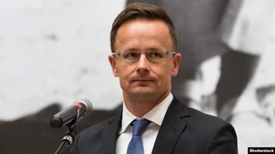 Угорський дипломат Сійярто хоче, щоб в Україні дозволили держуправління мовою нацменшин