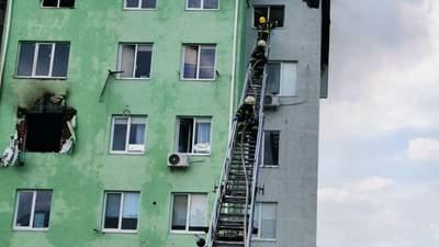 Причиною вибуху в багатоповерхівці під Києвом могла бути граната, – ДСНС