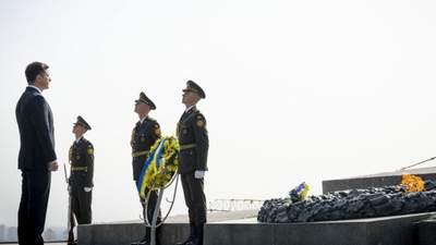 Трагедия, которая коснулась каждой семьи, – Зеленский почтил память погибших во Второй мировой