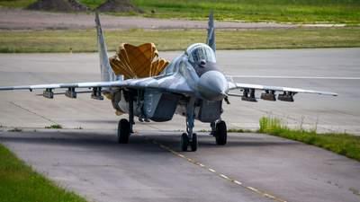 Вооруженным силам Украины передали истребитель МиГ-29: фото