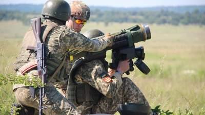 Українські оператори Javelin зі школи артилерії вперше провели запуск ракет: відео