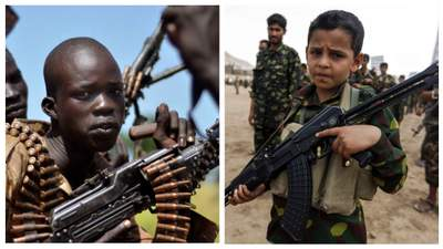 В 2020 более 8500 детей использовали в военных конфликтах, – ООН