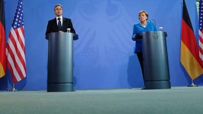 """Блінкен закликав Меркель знизити ризики від """"Північного потоку-2"""" – Голос Америки"""