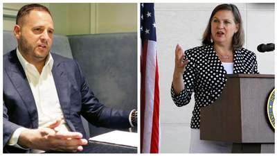 Ермак обсудил с Нуланд детали предстоящего визита Зеленского в США