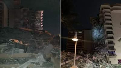 Возле Майами обрушилась многоэтажка: на место направили 80 бригад спасателей