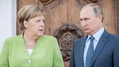Меркель: Евросоюз должен искать прямые контакты с Россией и Путиным