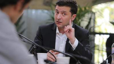 Зеленский ввел в действие санкции СНБО против российских банков на оккупированных территориях