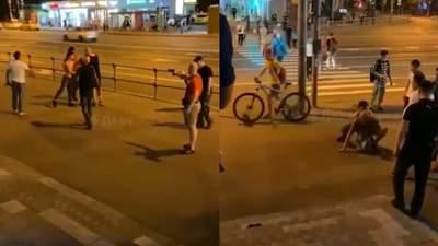 """В Москве жестоко избили ребят за крики """"Россия – для русских"""": видео"""